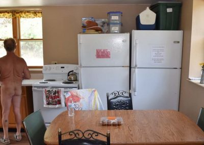 Inside the Community Kitchen at Mountain Air Ranch