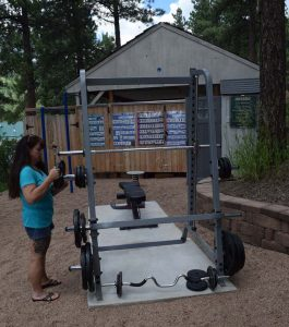 Exercise At MAR Family Nudist Resort Colorado