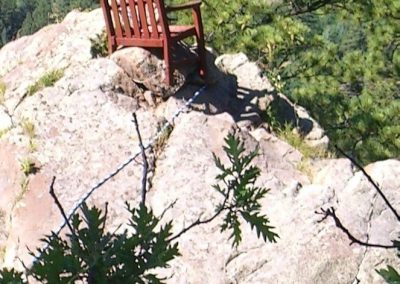 The Chair at Glenn's Rock