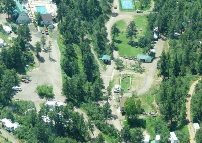 Ariel View of Mountain Air Ranch