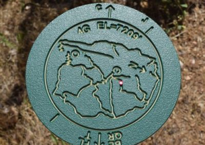 MAR Trail Marker at 7,209 ft